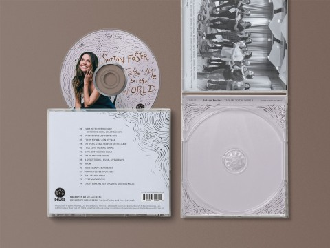 Sutton Foster Album Design