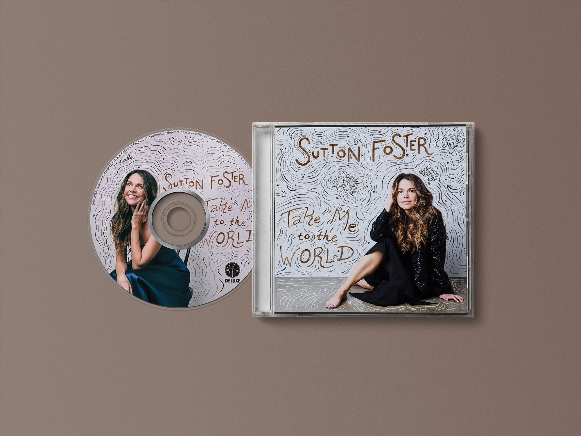 Sutton Foster Album Design